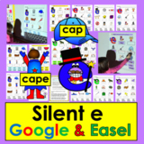 Silent e for Google Slides Digital: Set One - First Grade