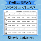 ROLL and READ Silent letters kn and wr 2 Games Roll and re