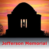 Art Lessons: Presidents' Day Art - Jefferson Memorial Printable Templates