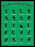 Silhouette Feelings Poster: Verde
