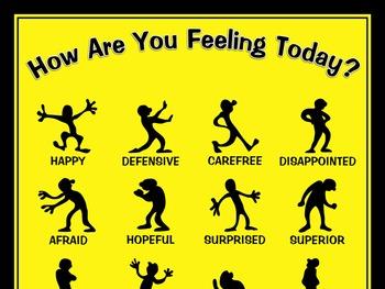 Silhouette Feelings Poster: Vibrant