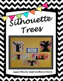 Silhouette Trees Art Lesson by Sweet Southern Charm