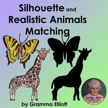 Silhouette and Realistic Animal Images for Matching