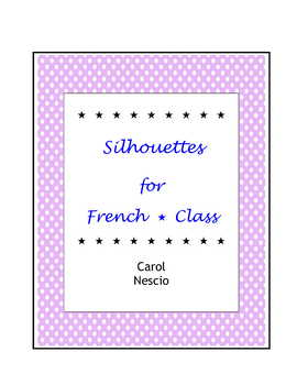 Silhouettes For French Class