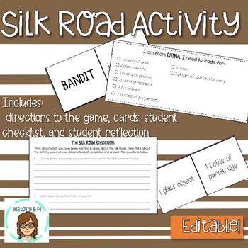Silk Road Activity