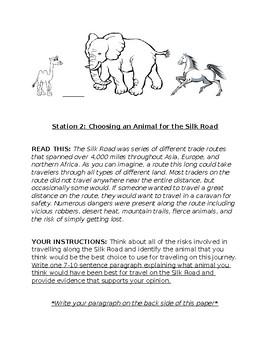 Silk Road - Choose Your Animal