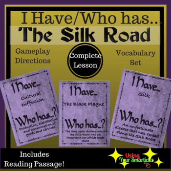 Silk Road : I Have Who Has - Loop Game