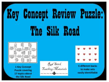 Silk Road Key Concepts Puzzle