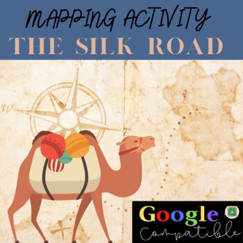 image about Silk Road Map Printable named Silk Highway Map Worksheets Schooling Elements Academics Spend