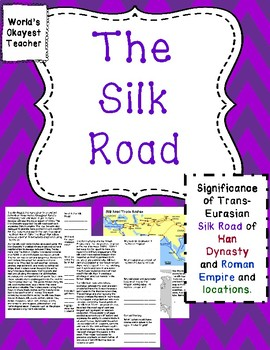Silk Road: Period of Han Dynasty and Roman Empire