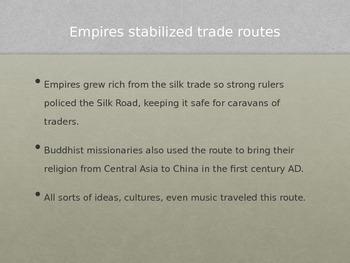 Silk Road PowerPoint
