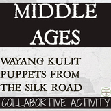 Middle Ages and the Silk Road Shadow Puppets (Wayang Kulit) from Indonesia
