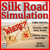 Silk Road Simulation - Distance Learning Compatible