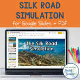 Silk Road Simulation Game with Digital and Printable Versions