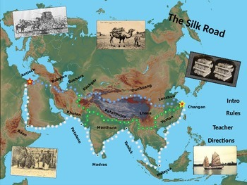 Silk Road Simulation/Strategy Game