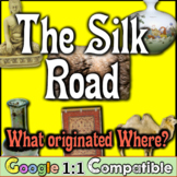 Silk Road: What Originated Where in Ancient China? Student
