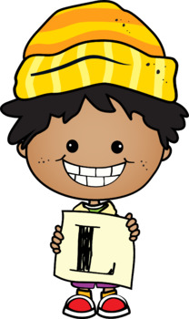 Clipart Silly Kids {Lilly Silly Billy}