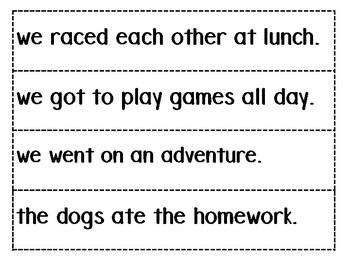 Silly AAAWWUBBIS Sentences