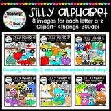 Silly Alphabet Clipart
