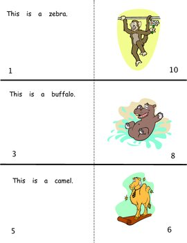 Silly Animals: Reproducible Guided Reading Book Level A