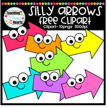 Silly Arrows Free Clipart