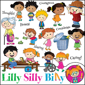 Silly Billy - Caring Cuties, celebrating values.