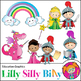 Clipart Fairy Tale and Unicorn {Lilly Silly Billy}
