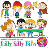 Clipart I Love Learning {Lilly Silly Billy}