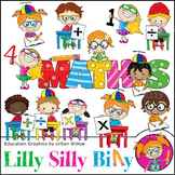 Clipart Maths {Lilly Silly billy}
