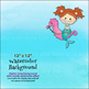 Clipart Mermaids {Lilly Silly Billy}