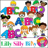 Clipart Spelling {Lilly Silly Billy}