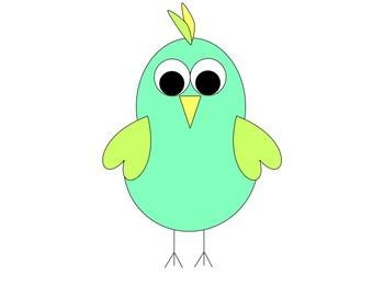 Silly Birds Clip Art
