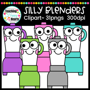 Silly Blenders Clipart