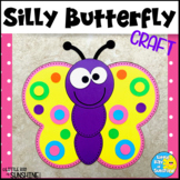 Silly Butterfly Craft for Spring