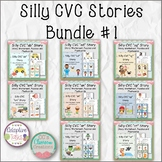 Silly CVC Stories Bundle #1