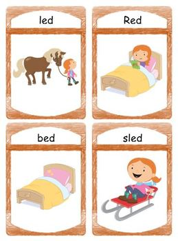 """Silly CVC """"ed"""" Story Worksheet, Puzzles and Flashcards"""