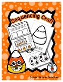 Silly Candy Corn - Halloween - Sequencing Reader Mat & Craft Page