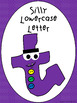Silly Capital and Lowercase Letters Signs/Posters with Class Book Templates