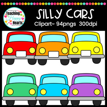 Silly Cars Clipart