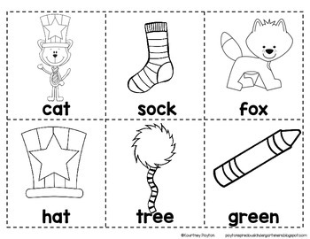 Silly Cat ABC Order