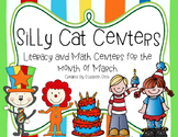 Silly Cat! Centers for March