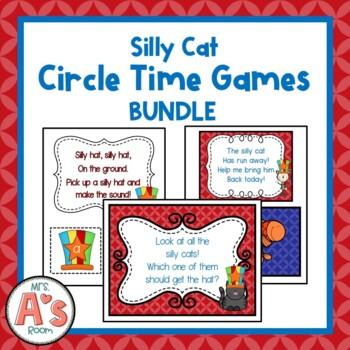 Silly Cat Circle Time Activities **BUNDLE**