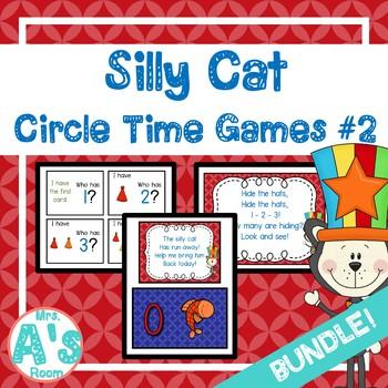 Silly Cat Circle Time Activities Set #2 **BUNDLE**