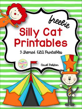 Silly Cat **FREEBIE**