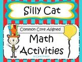 Silly Cat Math Activities CCSS
