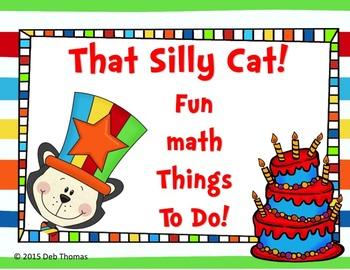 Silly Cat Math Fun!