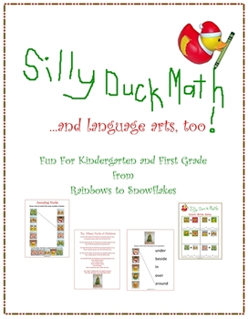 Silly Christmas Duck Math & Language Arts for K-1