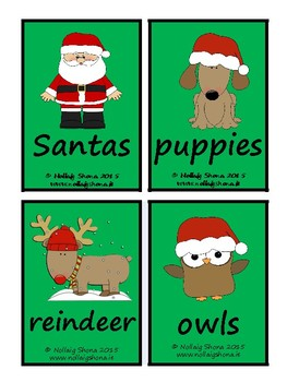 Silly Christmas Sentences 01