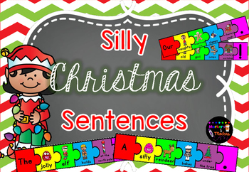 Silly Christmas Sentences FREEBIE