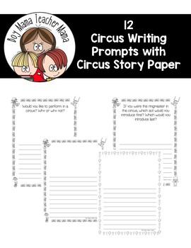Silly Circus Sentences: A Sentence Writing Activity
